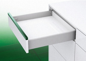 Grass Vionaro Drawer System, Side Height: (4 3/4) 121 mm