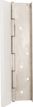 Half Mortise with Guard Pin and Barrel Continuous Hinge, CH955