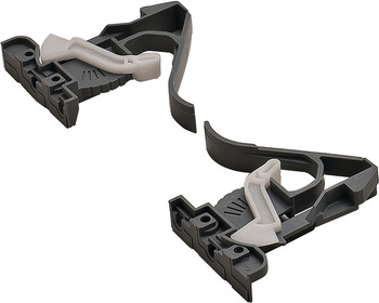 Height Adjustable Disconnect Clips, for Salice Futura Slides