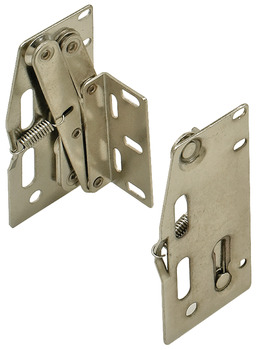 Hinge Set, for Cut-to-Size Tip-Out Tray