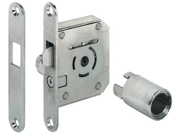 Hook Bolt Mortise Lock, Backset 22 mm
