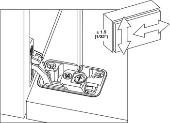 In-Side Flap Hinge