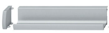 Inset Handle, Aluminum