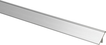 Inset Handle, Satin, Aluminum