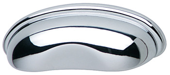 Inset Handle, Zinc, 64 mm CTC