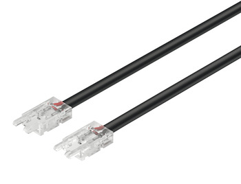 Interconnecting lead, Häfele Loox5 for LED strip light monochrome 8 mm (5/16)