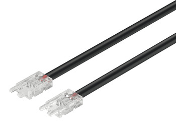 Interconnecting lead, Häfele Loox5 for LED strip light, multi-white, (5/16) 8 mm