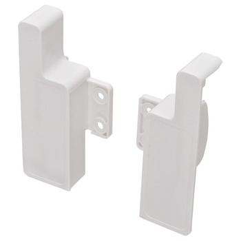 Internal Drawer Front Fixing Bracket, for Supra 86 Single-Wall Metal Drawer System