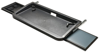 Keyboard Tray, with Mouse Tray