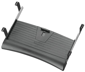 Keyboard Tray, with Sloped Edge