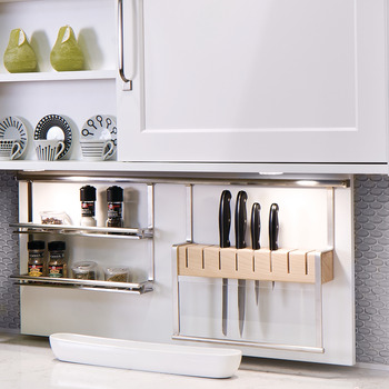 Knife Holder, Backsplash Railing System