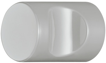 Knob, Polyamide, with recessed grip, cylindrical