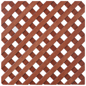 Lattice Grill, 45° Angle; 9/16 Staves