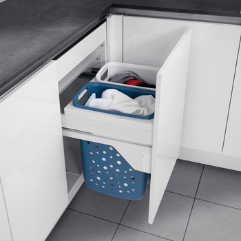 Laundry Hamper, Hailo 45 with Full Extension