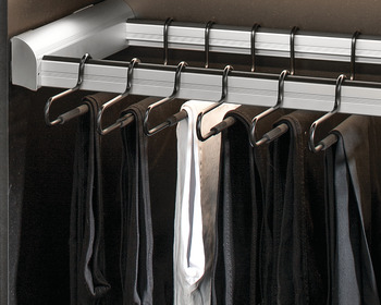 Laundry/Pant Rack Pull-Out Frame, TAG ENGAGE