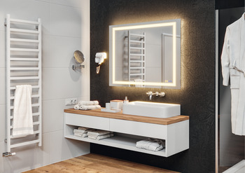 Lighted Mirror, Multifunctional