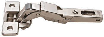 Lipped Door Hinge, Salice, 110° Opening Angle, Self Close, Full Overlay