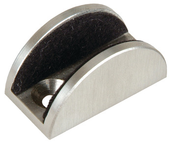 Lower Guide, For Glass Doors, 8 - 12.7 mm (5/16 - 1/2)