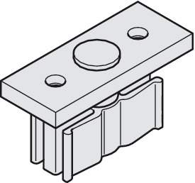 Lower Guide Plate, with Plastic Slider