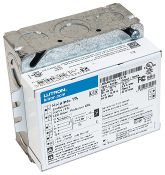 Lutron LED Driver, Ecosystem® 3-Wire