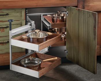 Magic Corner Ii For Blind Corner Cabinets In The Häfele America Shop