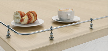 Metal Rail System, for Kitchen
