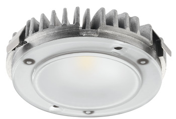 Modular Puck Light, Modular, monochrome, LED 2025, aluminum, 12 V