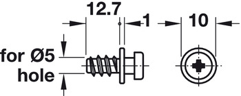 Modular Screw, with Special Thread