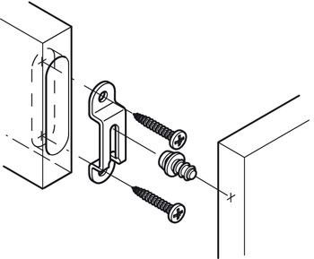 Modular Screw, with Wood Screw Thread