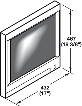 Monitor Suspension System, for Flat Screen Monitors