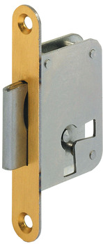 Mortise Lock, with Catch, Forend 70 mm
