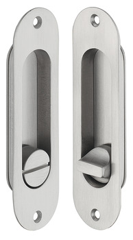Mortise Locks, Oval, Backset A= 50 mm (1 31/32)