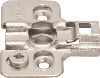 Mounting Plate, for Clip-On Hinges