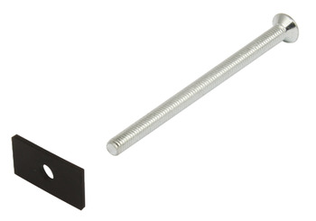 Mounting Set for Wood Door , Stainless Steel, Startec®, for Carlo Door Handle