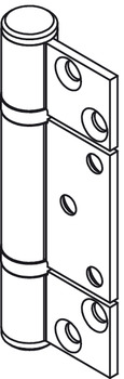 Non-Mortise Hinge, Straight