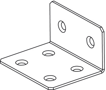 Open End Bracket to Mount Header, Components for Slido Pocket Door