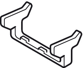 Opening Angle Reduction Clip, 90°, for use with Tiomos M9, M0 and Mirro