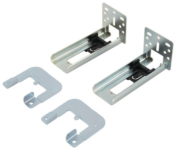 Optional Face Frame Bracket, for Accuride 2132 Side Mounted Slide