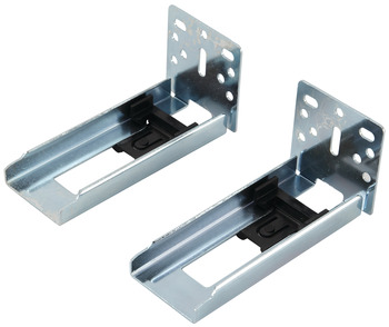 Optional Face Frame Bracket, for Accuride 3732 Side Mounted Slide