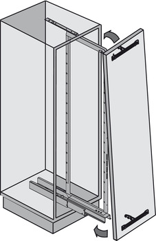 Optional Front Stabilizer, for Pantry & Swing Pull-Out