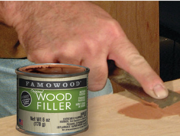 Original Wood Filler, FAMOWOOD®