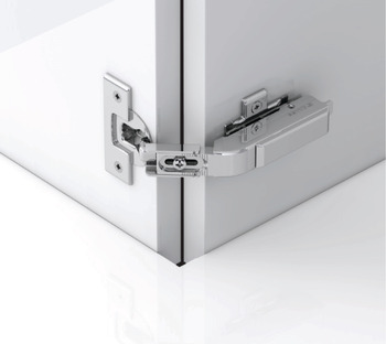 Pie-Cut Corner Hinge, Grass TIOMOS, Self-Close, for Connecting Two Folding Doors