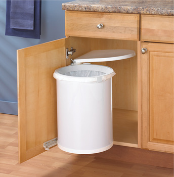 Pivot-Out Waste Bin, KV, 32 Qt.