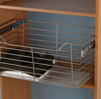 Plastic Liner, for Wire Closet Basket with Full Extension Slides