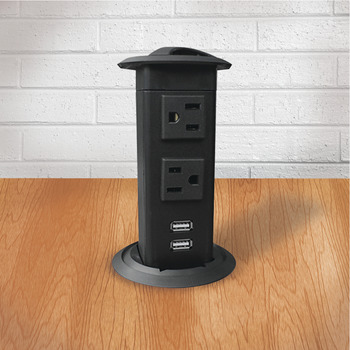 Pop-Up Power Station, AC, USB 2.1A