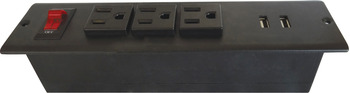 Power Bar, 3 Outlet