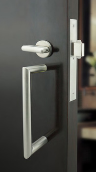 Pull Handle, ADA Compliant Mortise Lock with Deadbolt