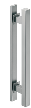 Pull Handles, Aluminum, one-sided, square