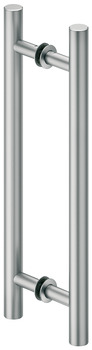 Pull Handles, Aluminum, two-sided, round