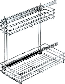 Pull-Out for Under Sinks, Base Unit, Lateral Installation